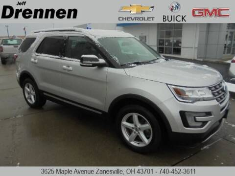 2017 Ford Explorer for sale at Jeff Drennen GM Superstore in Zanesville OH