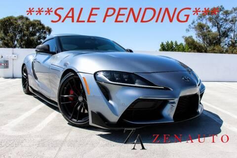 2020 Toyota GR Supra for sale at Zen Auto Sales in Sacramento CA