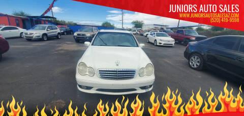 2005 Mercedes-Benz C-Class for sale at Juniors Auto Sales in Tucson AZ