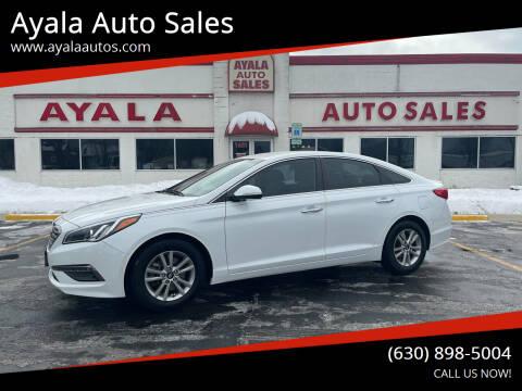 2015 Hyundai Sonata for sale at Ayala Auto Sales in Aurora IL