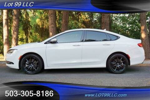 2015 Chrysler 200 for sale at LOT 99 LLC in Milwaukie OR