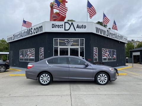 2014 Honda Accord for sale at Direct Auto in D'Iberville MS