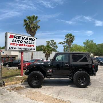 2015 Jeep Wrangler for sale at Brevard Auto Sales in Palm Bay FL