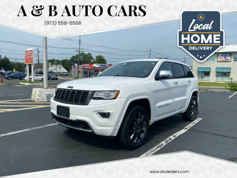 2014 Jeep Grand Cherokee for sale at A & B Auto Cars in Newark NJ