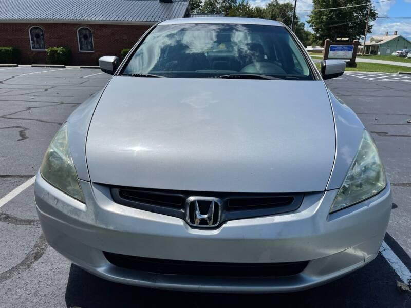 2005 Honda Accord for sale at SHAN MOTORS, INC. in Thomasville NC