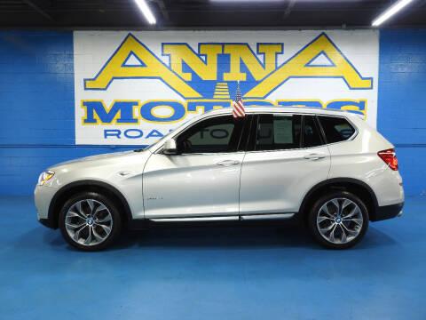 2017 BMW X3 for sale at ANNA MOTORS, INC. in Detroit MI