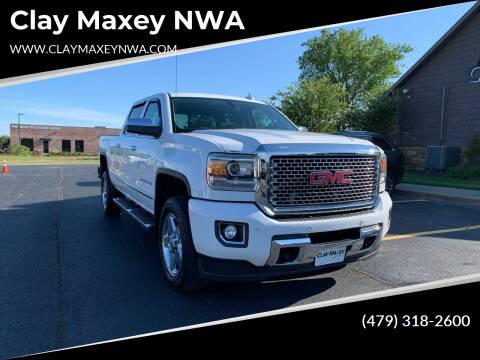 2015 GMC Sierra 2500HD for sale at Clay Maxey NWA in Springdale AR