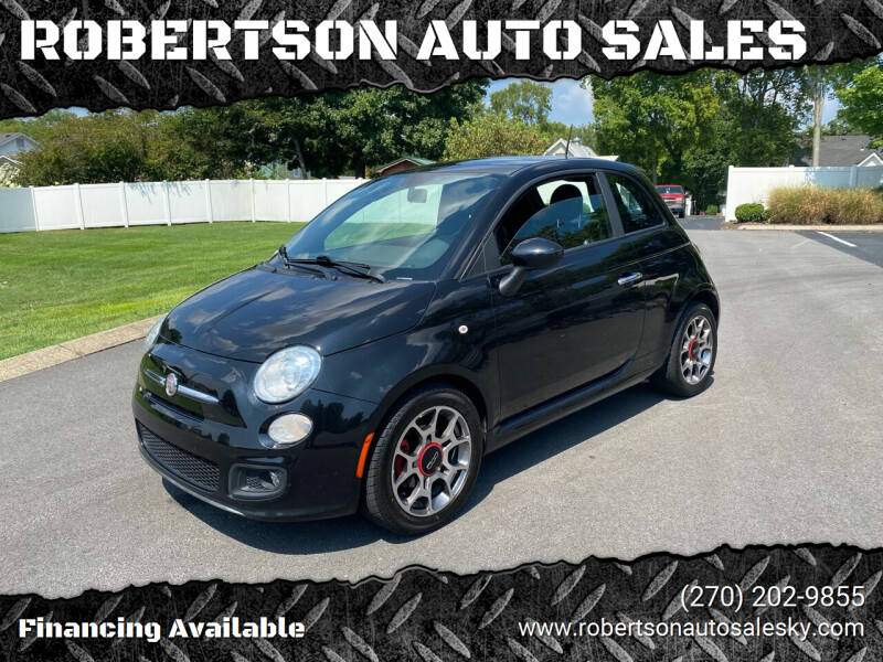 2013 FIAT 500 for sale at ROBERTSON AUTO SALES in Bowling Green KY