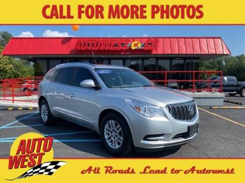 2013 Buick Enclave for sale at Autowest of GR in Grand Rapids MI