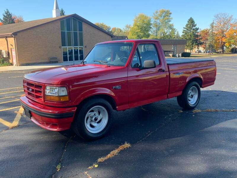 1993 Ford F-150 SVT Lightning for sale at Dittmar Auto Dealer LLC in Dayton OH