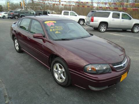 2004 Chevrolet Impala for sale at River City Auto Sales in Cottage Hills IL