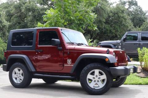2009 Jeep Wrangler for sale at SELECT JEEPS INC in League City TX