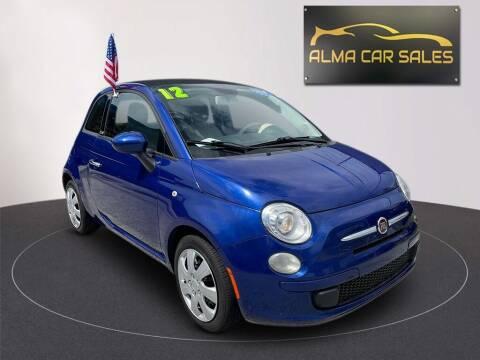 2012 FIAT 500c for sale at Alma Car Sales in Miami FL