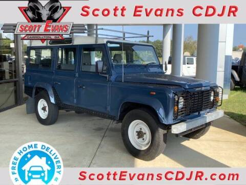 1989 Land Rover Defender for sale at SCOTT EVANS CHRYSLER DODGE in Carrollton GA