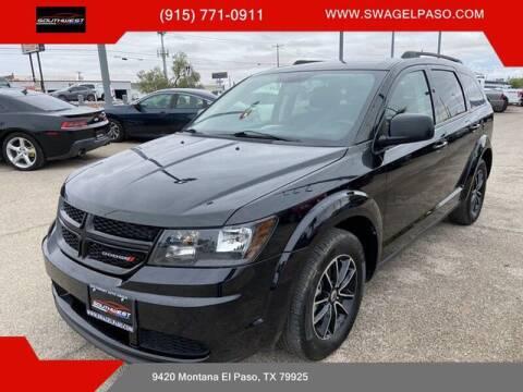 2018 Dodge Journey for sale at SOUTHWEST AUTO GROUP-EL PASO in El Paso TX