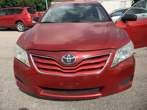 2010 Toyota Camry for sale at CARPLEX MOTORS in Houston TX