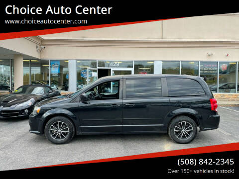 2014 Dodge Grand Caravan for sale at Choice Auto Center in Shrewsbury MA