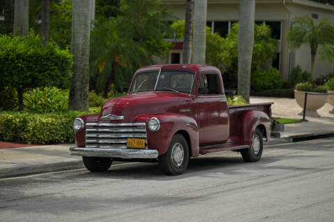1952 Chevrolet 3100 for sale at EURO STABLE in Miami FL