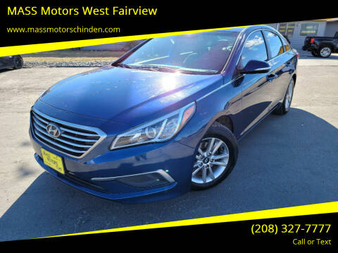 2016 Hyundai Sonata for sale at MASS Motors West Fairview in Boise ID