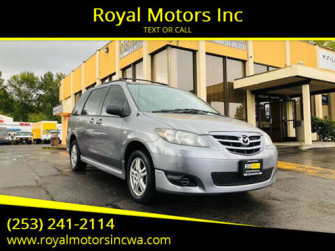 2005 Mazda MPV for sale at Royal Motors Inc in Kent WA