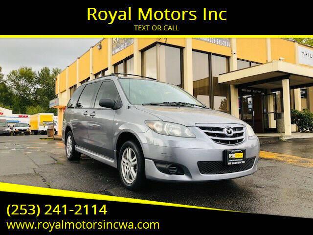 2005 Mazda MPV for sale at Royal Motors Inc in Kent WA