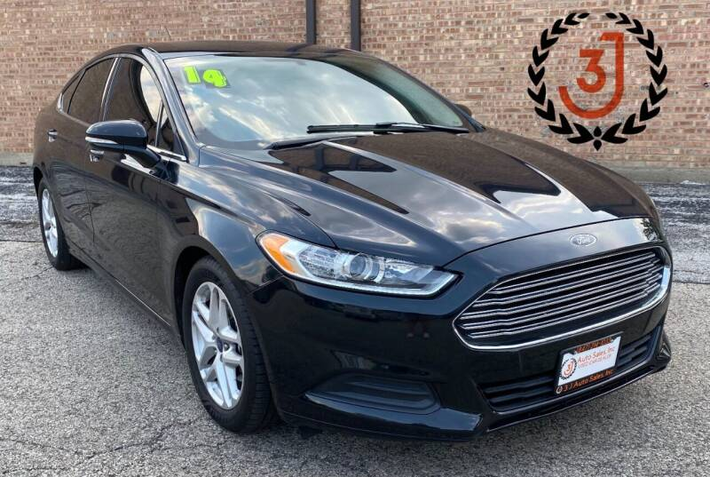 2014 Ford Fusion for sale at 3 J Auto Sales Inc in Arlington Heights IL