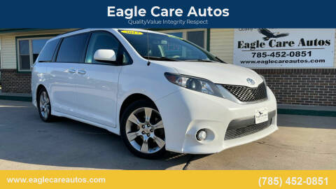2013 Toyota Sienna for sale at Eagle Care Autos in Mcpherson KS