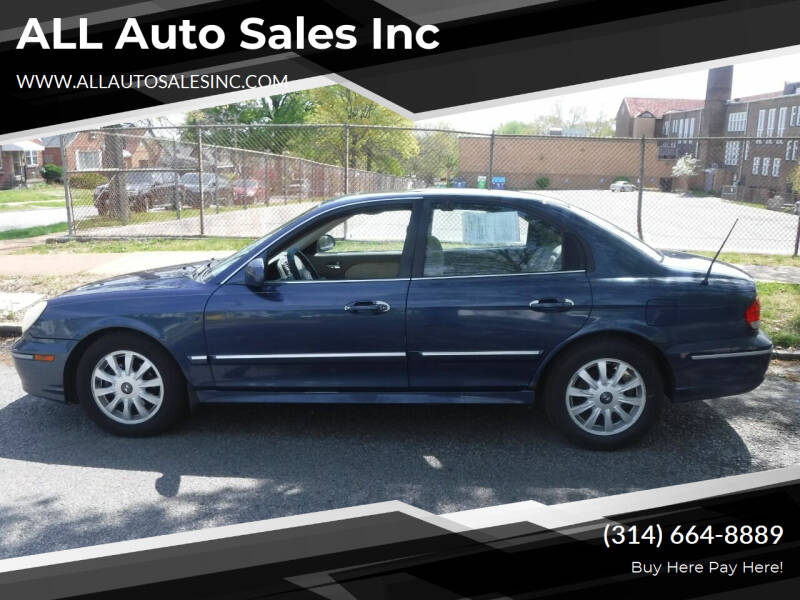 2005 Hyundai Sonata for sale at ALL Auto Sales Inc in Saint Louis MO