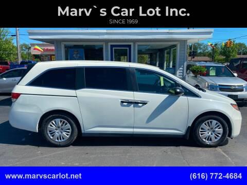 2015 Honda Odyssey for sale at Marv`s Car Lot Inc. in Zeeland MI