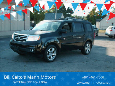 2014 Honda Pilot for sale at Bill Caito's Mann Motors in Warwick RI