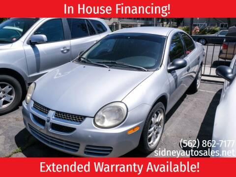 2005 Dodge Neon for sale at Sidney Auto Sales in Downey CA
