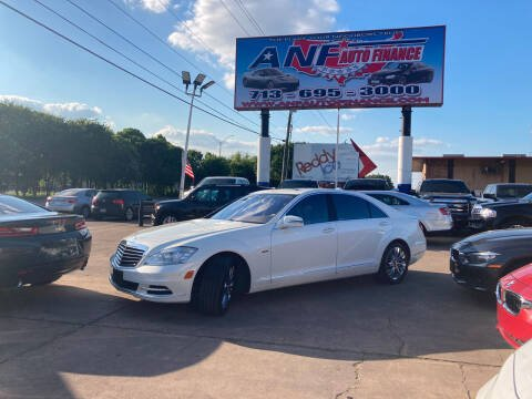 2010 Mercedes-Benz S-Class for sale at ANF AUTO FINANCE in Houston TX