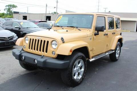 2014 Jeep Wrangler Unlimited for sale at Road Runner Auto Sales WAYNE in Wayne MI