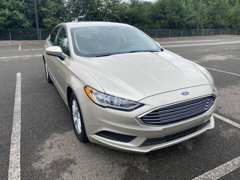 2017 Ford Fusion for sale at CU Carfinders in Norcross GA
