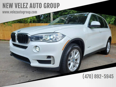 2015 BMW X5 for sale at NEW VELEZ AUTO GROUP in Gainesville GA