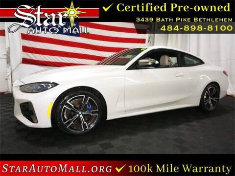 2021 BMW 4 Series for sale at STAR AUTO MALL 512 in Bethlehem PA