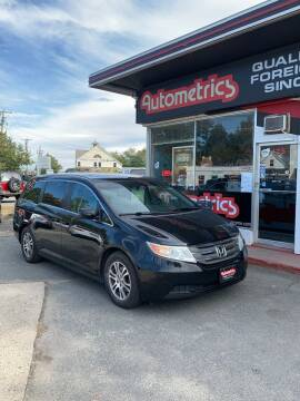 2012 Honda Odyssey for sale at AUTOMETRICS in Brunswick ME