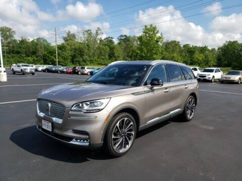 2020 Lincoln Aviator for sale at White's Honda Toyota of Lima in Lima OH