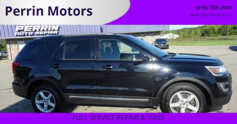 2016 Ford Explorer for sale at Perrin Motors in Comstock Park MI