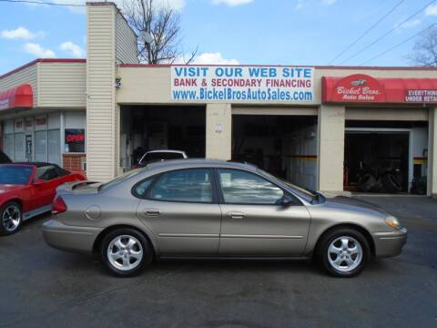 2004 Ford Taurus for sale at Bickel Bros Auto Sales, Inc in Louisville KY