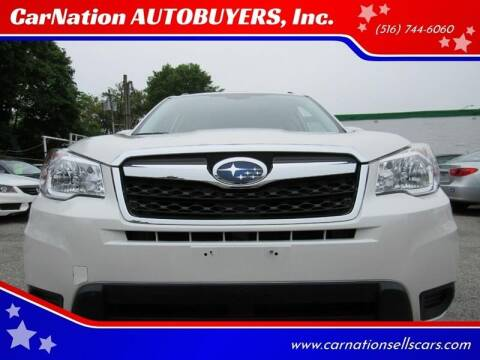 2015 Subaru Forester for sale at CarNation AUTOBUYERS, Inc. in Rockville Centre NY