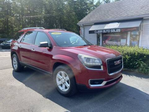 2013 GMC Acadia for sale at Clear Auto Sales in Dartmouth MA
