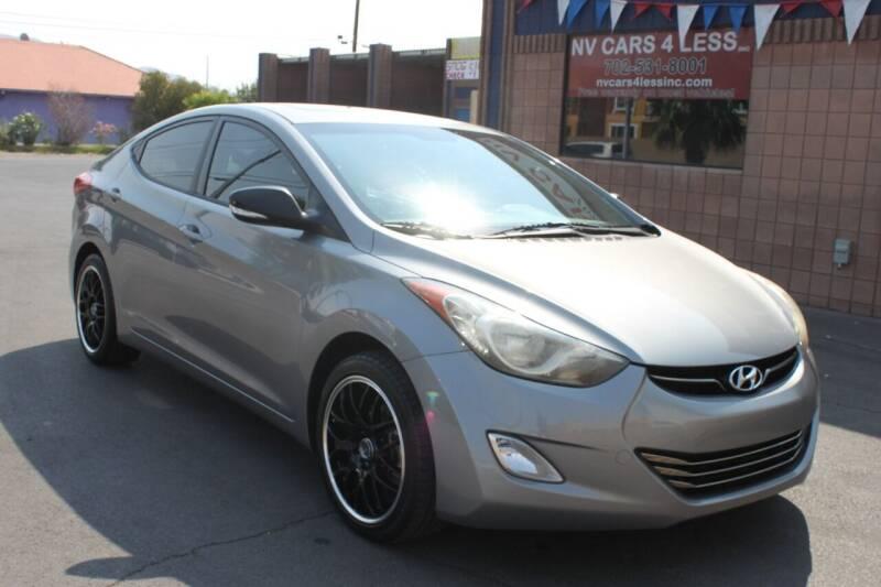 2013 Hyundai Elantra for sale at NV Cars 4 Less, Inc. in Las Vegas NV