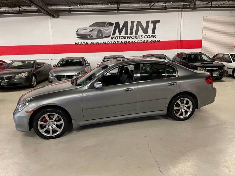 2006 Infiniti G35 for sale at MINT MOTORWORKS in Addison IL