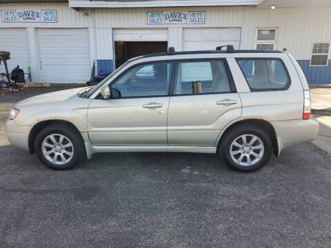 2007 Subaru Forester for sale at Dave's Garage & Auto Sales in East Peoria IL