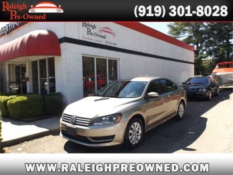 2015 Volkswagen Passat for sale at Raleigh Pre-Owned in Raleigh NC