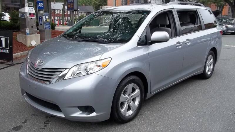 2016 Toyota Sienna for sale at Cypress Automart in Brookline MA