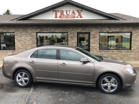 2010 Chevrolet Malibu for sale at Truax Auto Sales Inc. in Deer Creek MN