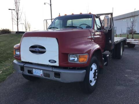 1996 FORD F800  FLAT BED for sale at Sparkle Auto Sales in Maplewood MN