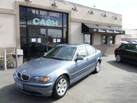 2002 BMW 3 Series for sale at Wilson-Maturo Motors in New Haven Ct CT